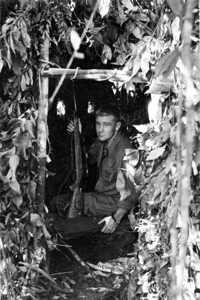 Author at age 17 in the mirador ©Jack Wheeler