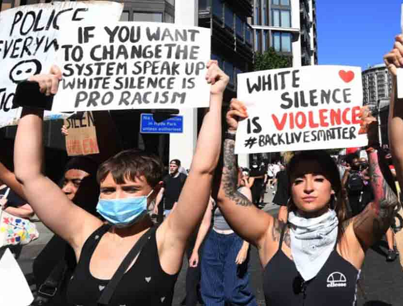 white-blm-protesters