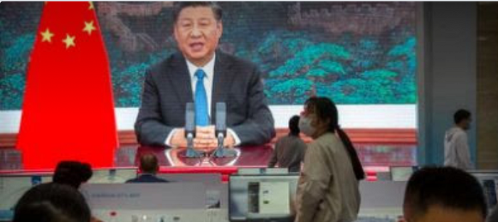 china-president-on-screen