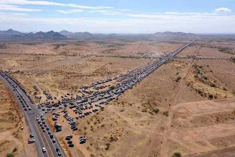 trump-car-caravan
