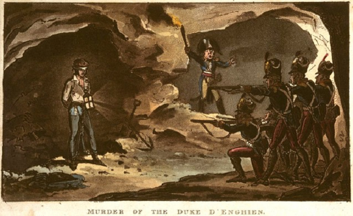 """""""It was worse than a crime, it was a blunder"""" Talleyrand on Napoleon's ordering the murder of the Duke of Enghein, 1804"""