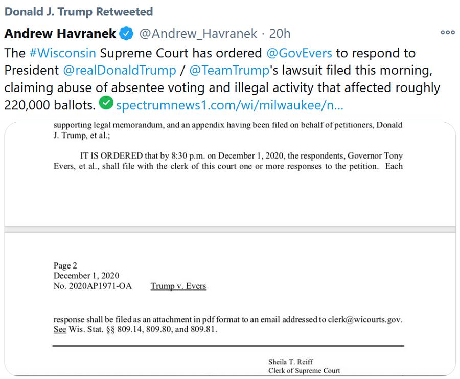 havranek-tweet-on-court-ruling-to-answer-cheat-votes