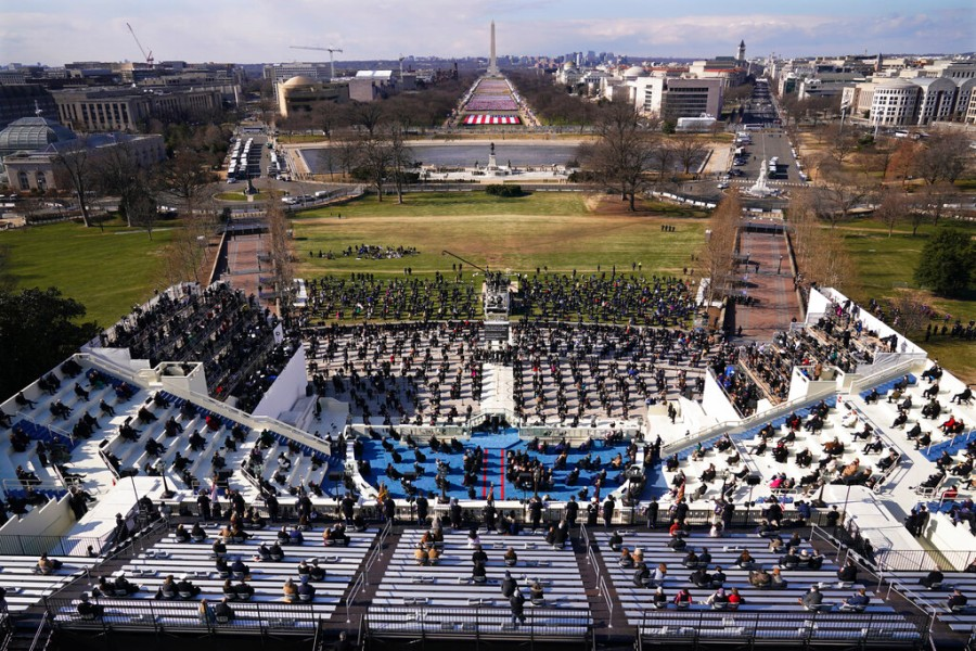 How pathetic can you get? Faux-inauguration 2021