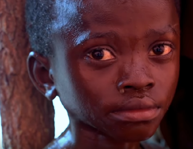 Child slave at Chinese Cobalt Mine in Africa