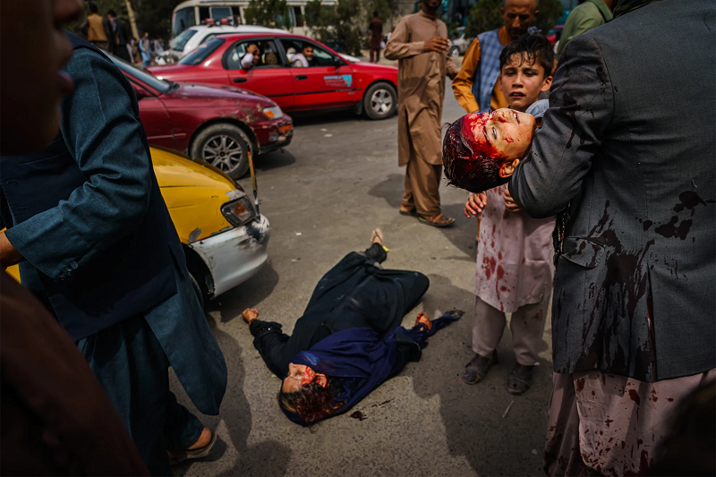 Women killed, children beat up by Taliban in Kabul (8/17)