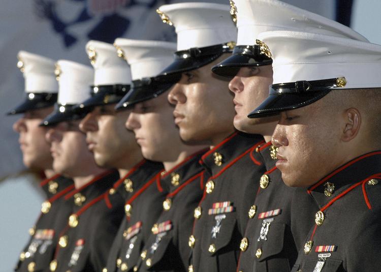 marines-in-uniform