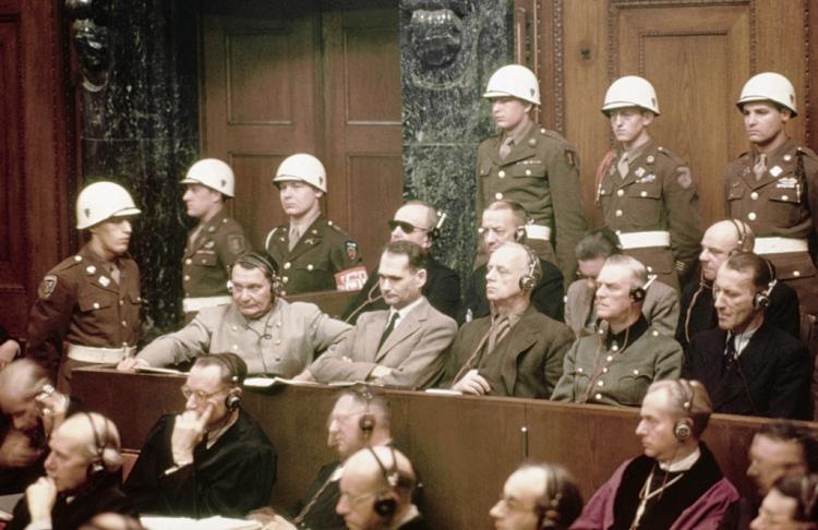 Nazi War Criminals at Nuremberg Trials