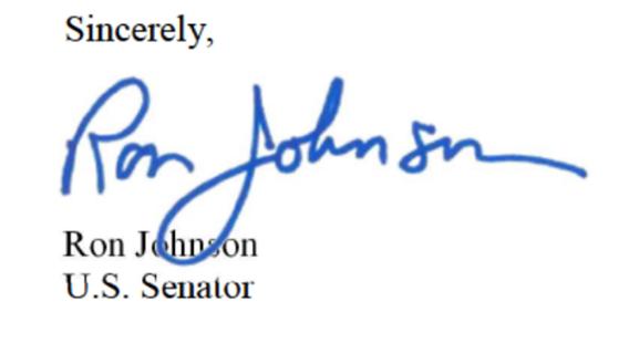 ron-johnson-sign