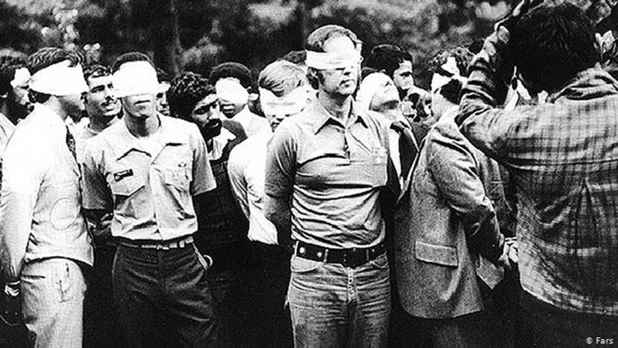 American hostages in Tehran 1979