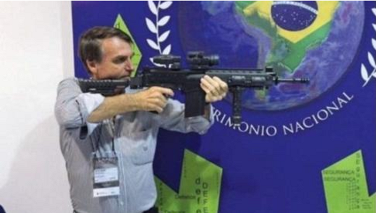 Brazil President Jair Bolsonaro fighting for freedom