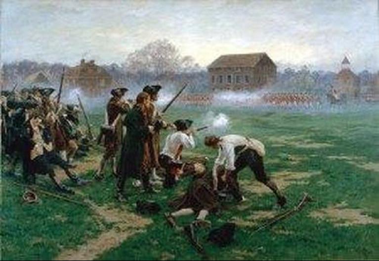 colonial-war-scene