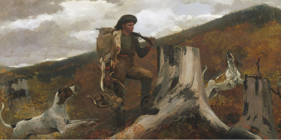 huntsman-with-dogs